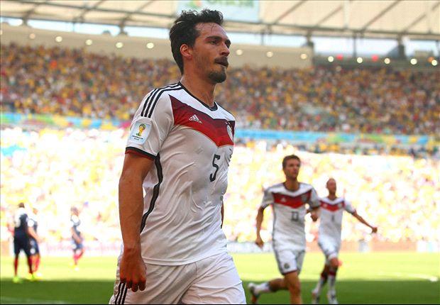 Erzielte das 1:0 gegen Frankreich: Mats Hummels