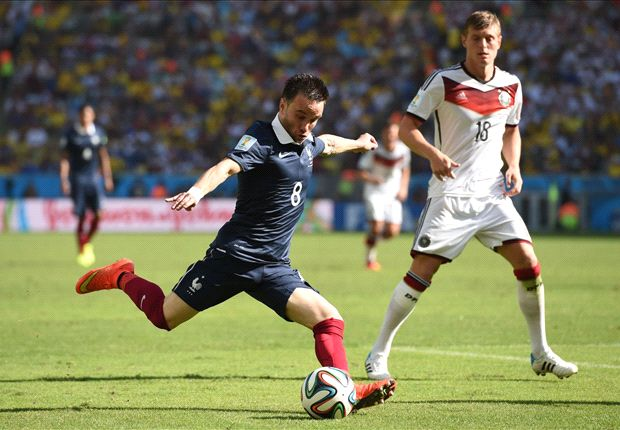 Las estadísticas del Francia 0-1 Alemania