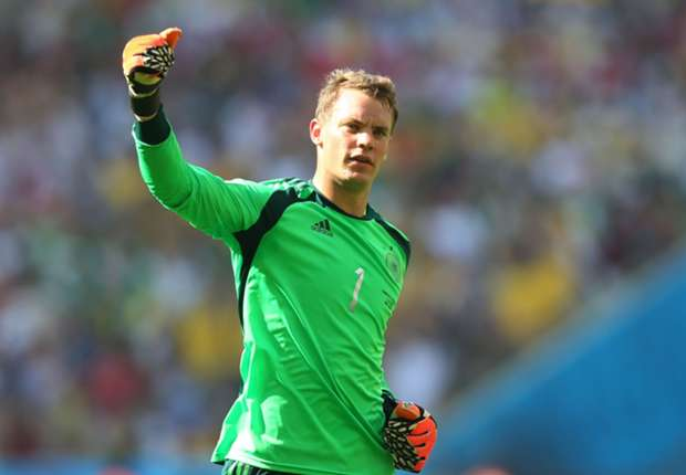 Neuer the world's best goalkeeper, says Kahn