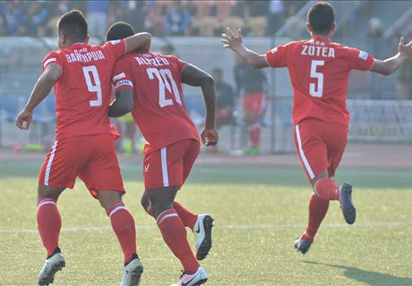 Aizawl continue their unbeaten start