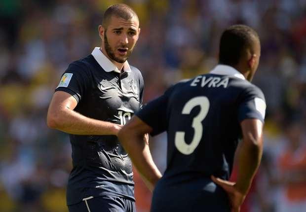 Karim Benzema France Germany World Cup 2014 07042014