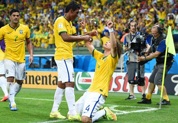 Brasil 2-1 Colombia: Thiago Silva y David Luiz se disfrazan de Neymar