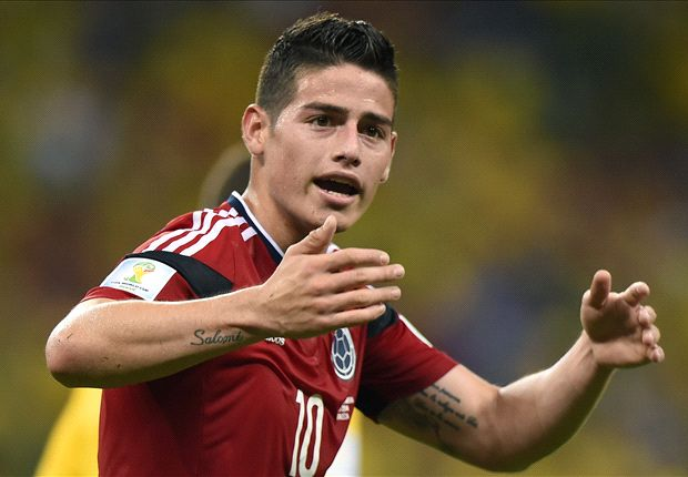 Ronaldo backs James to Madrid move