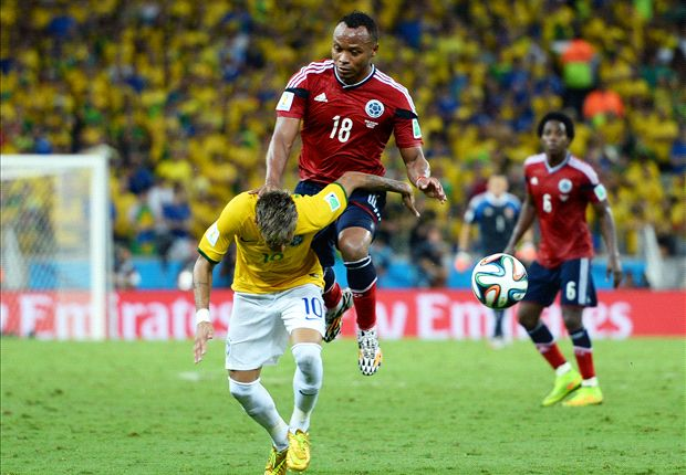 Zuniga: I didn't mean to hurt Neymar