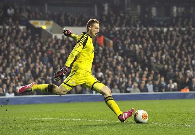 Jan Oblak saca de puerta ante el Tottenham