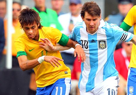 Messi deserves a World Cup - Neymar