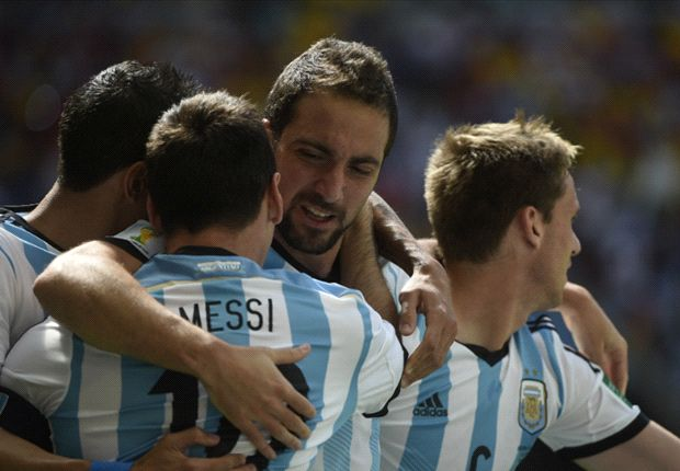 Argentina 1-0 Belgium: Higuain stunner seals semi-final berth