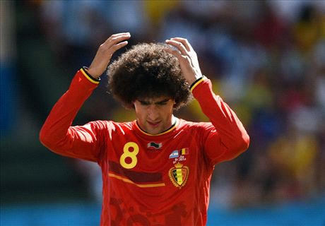 'Fellaini's hair is perfect for Napoli!'
