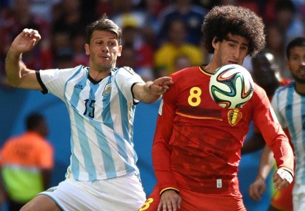 Demichelis fue el cambio sorpresa en Argentina y respondió muy bien.