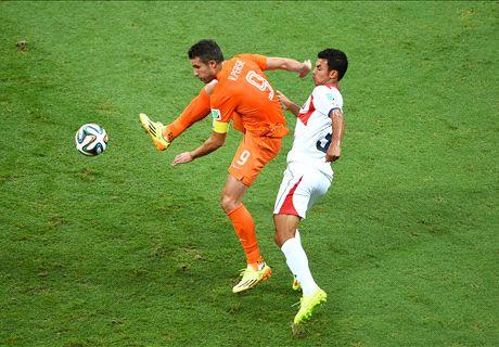 Notes des joueurs, Pays-Bas - Costa Rica (0-0, 4-3 t.a.b.)