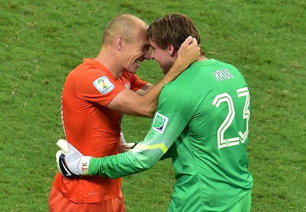 """Robben: """"Geen Messi tegen Robben"""""""