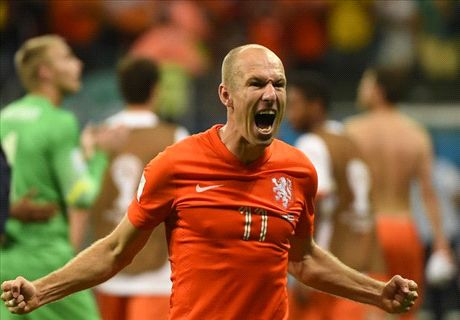 'Robben deserves to win Golden Ball'
