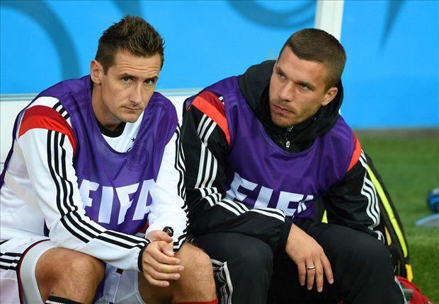 Podolski vexed as Koln U-turn on promise to retire his shirt