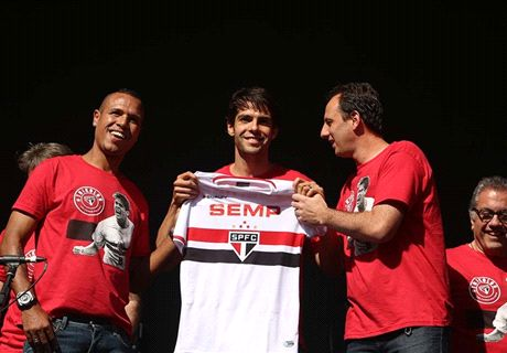 Kaka: Sao Paulo return a special day