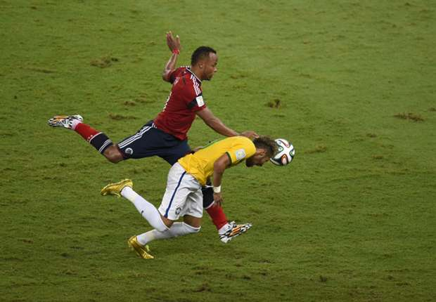 Zuniga escapes punishment for Neymar foul as Thiago Silva appeal rejected