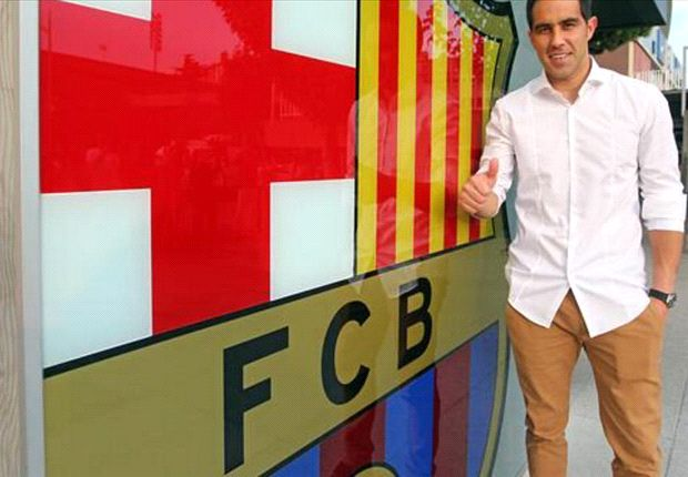 Bravo delighted with Barcelona move