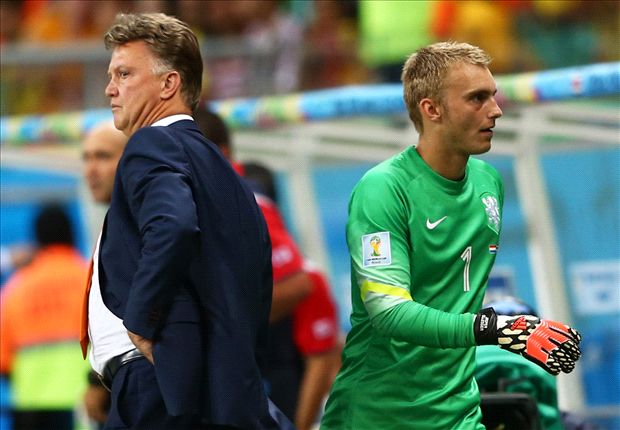 Van Gaal: I would have thrown Krul on again
