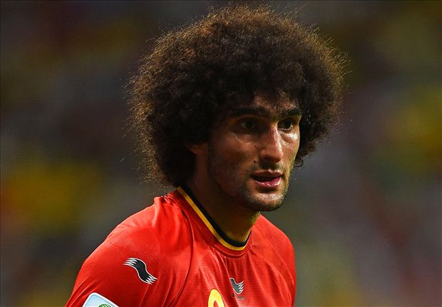 Napoli chief De Laurentiis confirms Fellaini interest