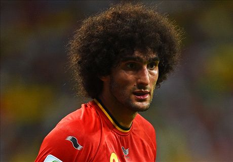 Napoli confirm Fellaini interest