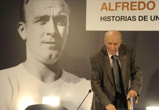 Alfredo di Stefano falleció a los 88 años de edad.