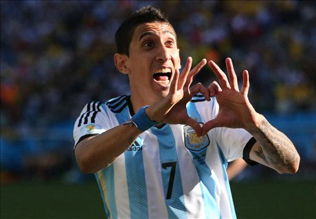 Caballero backs Di Maria to shine in PL