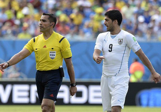 Suarez bite referee will officiate Brazil v Germany