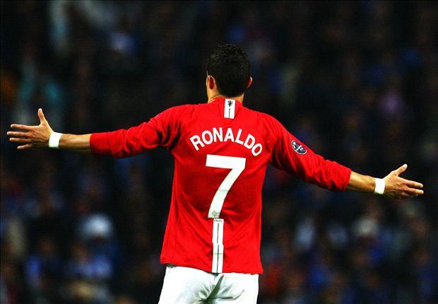 Cristiano y la '7' del United