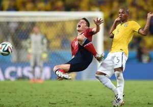 Ante Brasil, los nervios y una dudosa actuación arbitral le pasaron cuenta de cobro al equipo colombiano