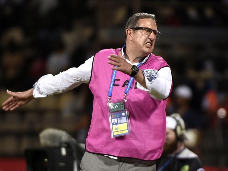 La déception du coach de l'Algérie