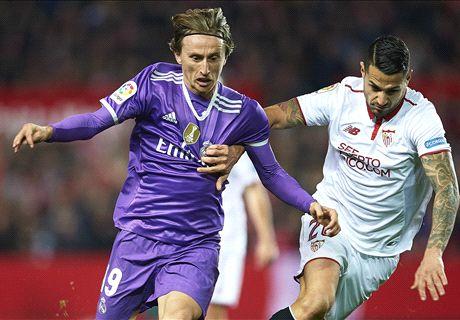 FT: Sevilla 2-1 Real Madrid