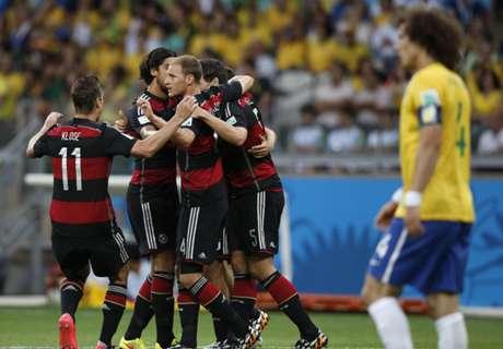 Brazil want Germany rematch