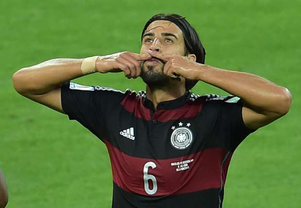Sami Khedira Brazil Germany 2014 World Cup quarter-final 07082014