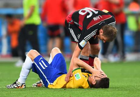 Lahm: We tried not to embarrass Brazil