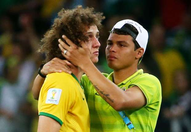 David Luiz: I am so sorry – I only wanted to make Brazilians happy