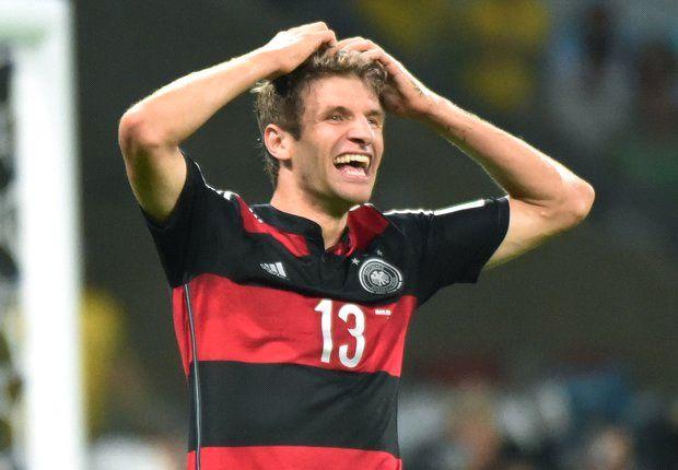 Müller tiene cinco goles en el Mundial