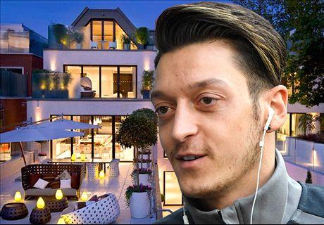 Ozil's luxurious €35 million mansion