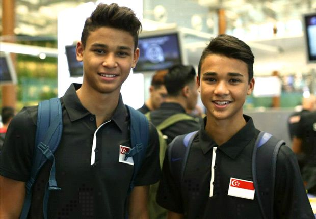 Irfan (left) and brother Ikhsan are ready to make their mark.