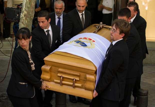 Di Stefano funeral held in Madrid