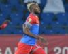 DR Congo's Junior Kabananga celebrates his goal against Morocco