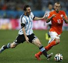 Argentina wanted penalties - Sneijder
