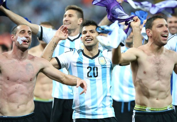 Aguero: Germany have respect for Argentina