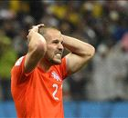 Ron Vlaar heartbroken at Dutch defeat