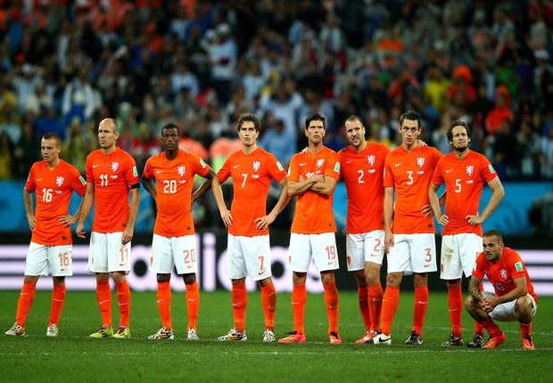 Netherlands' inability to win a World Cup not a psychological issue