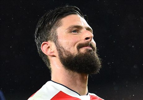 Giroud: My scorpion kick was better!