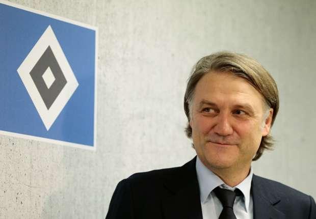 Sieht van der Vaart weiter beim HSV: Vorstandschef Dietmar Beiersdorfer
