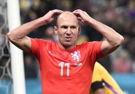 Robben: Argentina don't deserve final