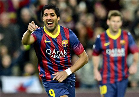 How will Barcelona line up with Suarez?