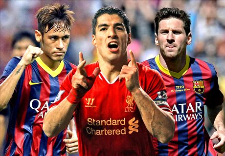 Will Suarez, Messi and Neymar work?