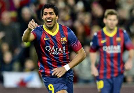 Barça, Luis Suarez est entré en jeu
