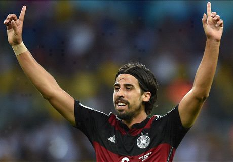 Transfer Talk: EPL sides battle for Khedira